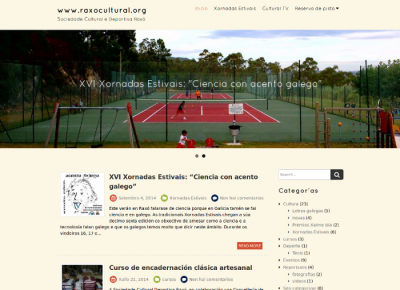 Portal da SCD Raxó
